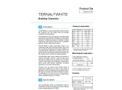 Ternal White - Building Chemistry Datasheet