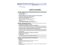 Ternal White - Building Chemistry MSDS