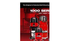 1000 Series - Self-Cleaning Vacuum - Brochure