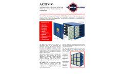 Model ACTIV-V - Carbon Filter Brochure