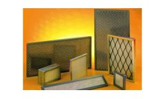 Emcel - Cleanable or Disposable Dustrap Panel Air Filters