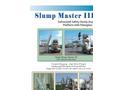 Slump Master - Model III - Galvanized Safety Slump Inspection Platform Brochure