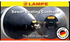 LAMPE Sewer Sealing Cushions - Video