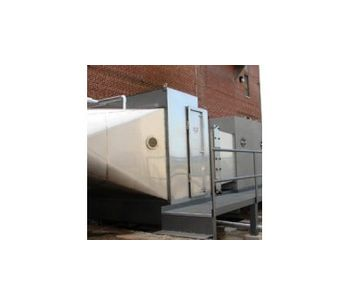 Model HDS - Hydrodynamic Industrial Air Scrubber