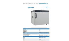 Pol-Eko-Aparatura - Model CHL 1 - Laboratory Refrigerators- Brochure