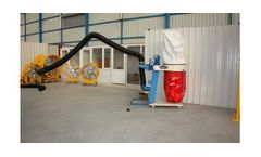 Model UAS-UT - Mobile Dust Collecting Units with Bag Filter & Acrobat Arm