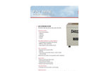 Model FA1-E - Mini Industrial Air Purification System Brochure