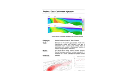 Impacts of cold water injection