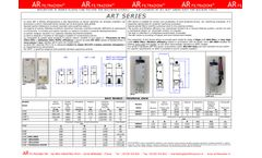 Model ART Series - Air Cleaners of Oil Mist Smoke Dust for Machine Tools - Datasheet