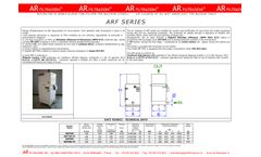 AR Filtrazioni - Model ARF Series - Air Cleaners of Oil Mist Smoke Dust for Machine Tools - Datasheet