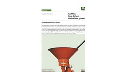 Mawera - Model PS Series - Cone-Bottom Silo Reclaim System - Brochure