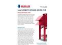 Mueller - Model MAF - Machinery Intake Air Filter - Brochure