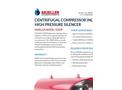TDSHP - Centrifugal Compressor / Inline High Pressure Silencer Brochure