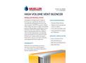 Model HVVS - High Volume Vent Silencer - Brochure