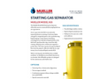 Model SGS - Starting Gas Separator Brochure