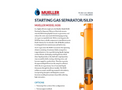 Starting - Model SGSS - Gas Separator Silencer Brochure