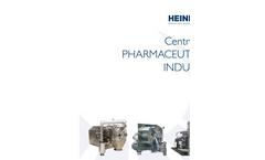 Series H 630 - 1300 P - Horizontal Peeler Centrifuges Brochure