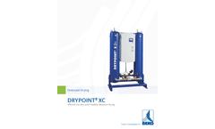 Drypoint - Model XC & ACC - Heatless Desiccant Dryers Brochure