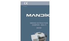 Model SEDM - Multi Compartment Smoke Extraction Damper Brochure