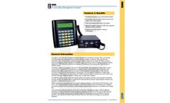 Liquid Controls - Model DMS - Data Management System - Brochure