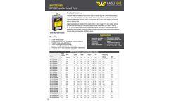 Eagle Eye - Model OPzS Series - Flooded Lead-Acid Batteries - Datasheet