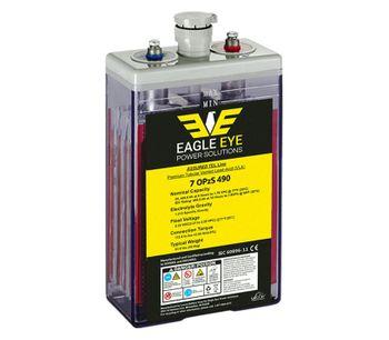 Eagle Eye - Model OPzS Series - Flooded Lead-Acid Batteries