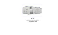 Model CTA - Air Hanfling Unit Brochure