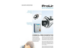 Aquionics - Model ProLine D Series - Automatic Pneumatic Cleaning System - Brochure
