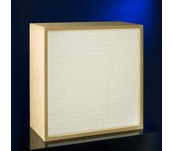 Kalthoff - High-Efficiency Particulate Air Filters Panel
