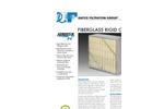 Aerostar - Model MERV 13 - Green Pleat Filter Brochure