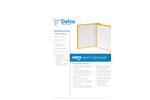 Nexfil - Mini-Pleat Air Filter Brochure