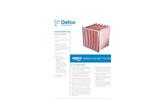 SoniQ - Pocket Filter Brochure