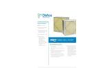 Aerostar GeoPleat - Fiberglass Rigid Cell Filters Brochure