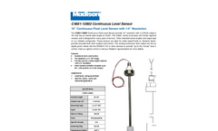 Model C4651-12802 – 18.63 - Continuous Level Sensor with 1/4