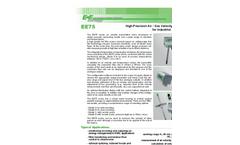 Model EE75 - High Accuracy Air Flow Sensor Brochure