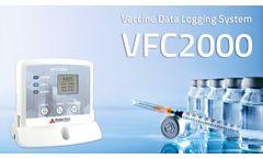 VFC2000 - Vaccine Monitoring Data Logger System - Video