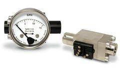 Model 0-2 to 0-40 GPH 1.5-5 SCFM - Low Flow Meter