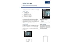 VesselCheck - HMI - Graphic Colour Operator Interface Terminalodel - Brochure