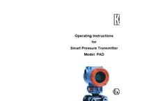 Standard - Model PAS - Pressure Transmitter  Brochure