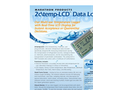 Model 2c\temp - Low Cost Multi Use Temperature Data Logger Brochure
