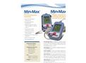 Model Min/Max Plus - Temperature Monitoring Thermometers Brochure