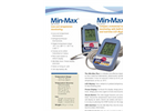 Model Min/Max - Low-Cost Temperature Monitoring Thermometer Brochure