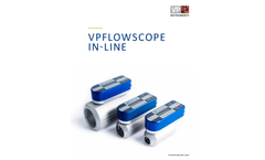 VPFlowScope - In-line Measures Flow, Pressure and Temperature Simultaneously - Brochure
