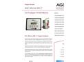 AGC - Model Microx MIC 7 - Oxygen Analyser - Brochure