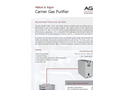 AGC - Model 75-802 - Carrier Gas Purifier