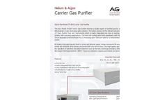 AGC - Model 75-804 - Carrier Gas Purifier - Brochure