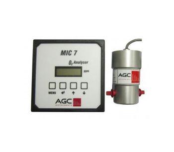 AGC - Model Microx MIC 7 - Oxygen Analyser