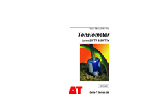 Delta-T - Types SWT5 & SWT5x - Miniature Tensiometer - User Manual