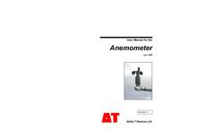 Type AN4 - Anemometer - User Manual
