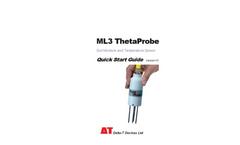 ML3 ThetaProbe - Version 1.0 - Soil Moisture and Temperature Sensor - Quick Start Guide